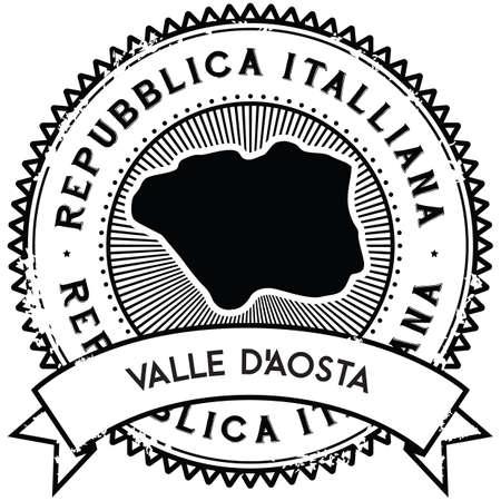 valle daosta map label