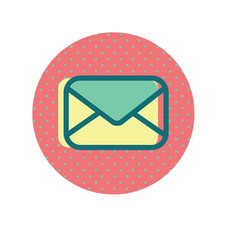 A mail icon illustration.