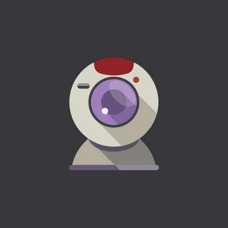 webcam icon Ilustração
