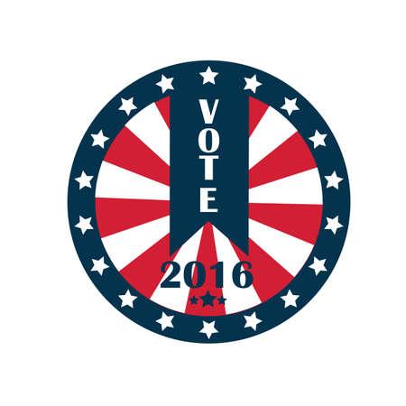 us vote Ilustrace