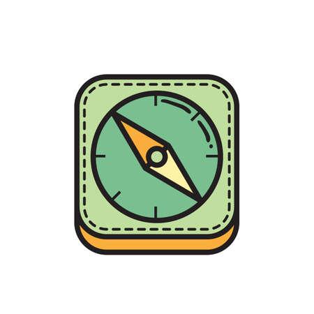 compass icon 版權商用圖片 - 81484105