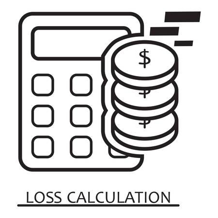 loss calculation
