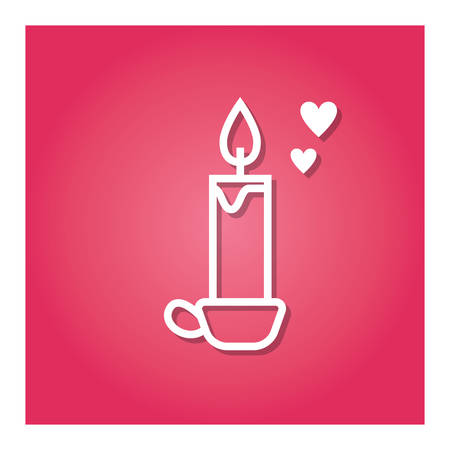 candle with holder