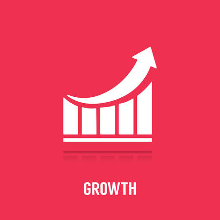 growth concept Ilustrace