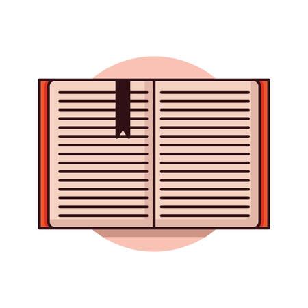 本を開く  イラスト・ベクター素材