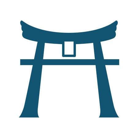 itsukushima shrine Illustration