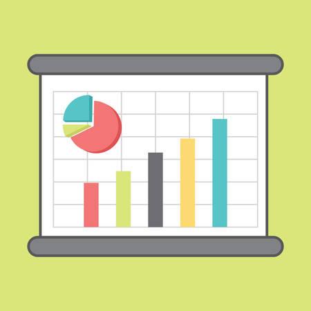 Business chart Иллюстрация