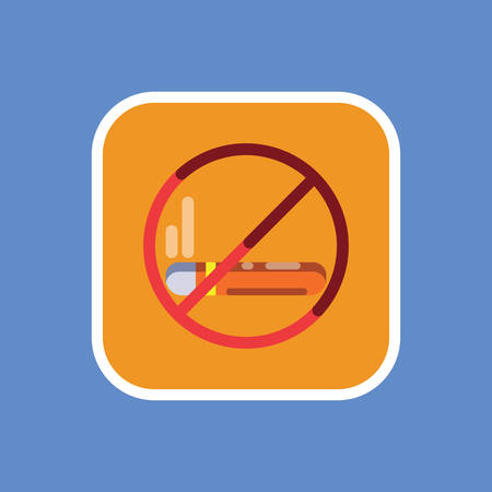 "Verboden te roken"" bordje"