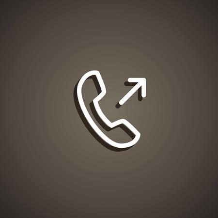 outgoing: outgoing icon