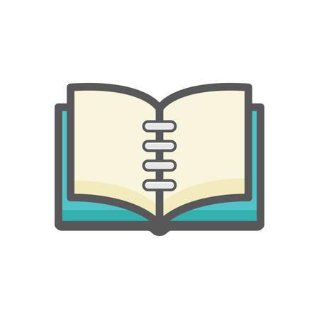 open book Иллюстрация
