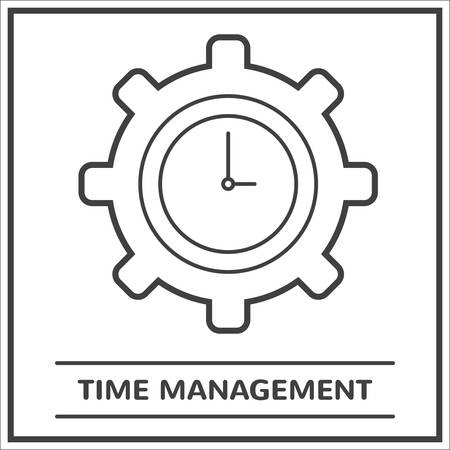 Time management Stock Vector - 81534493