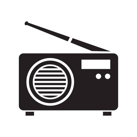 vintage radio Illustration
