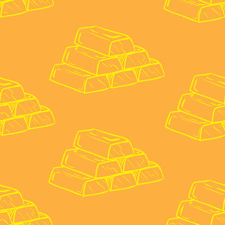 gold bars pattern background