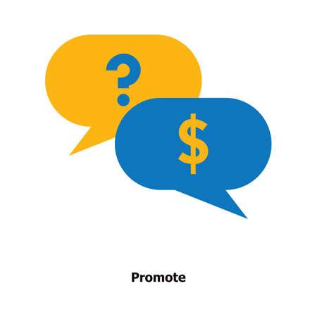 Promotie concept Stock Illustratie