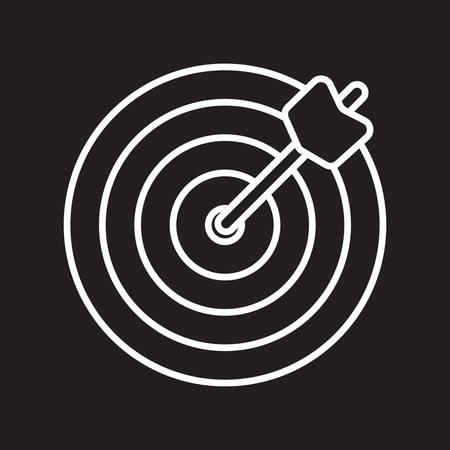 dartboard Иллюстрация