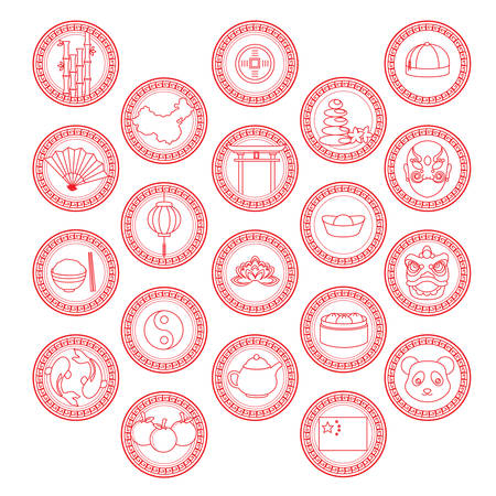 중국 아이콘 컬렉션