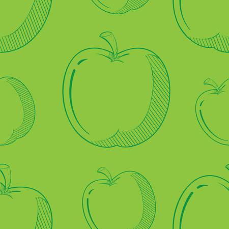 apple slices background