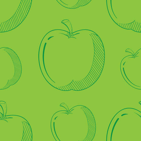 apple slices background
