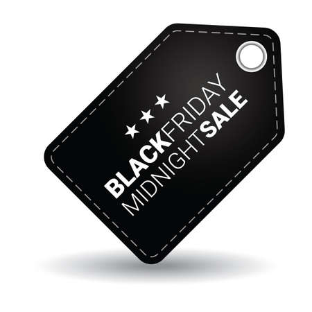 black friday sale tag Çizim
