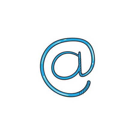 mail symbol icon  イラスト・ベクター素材
