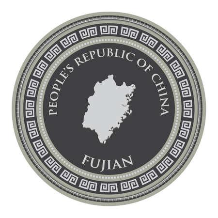 mappa del fujian
