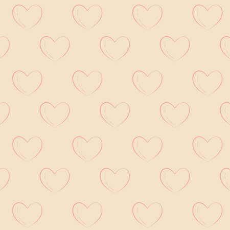 seamless heart pattern background Imagens - 81483675