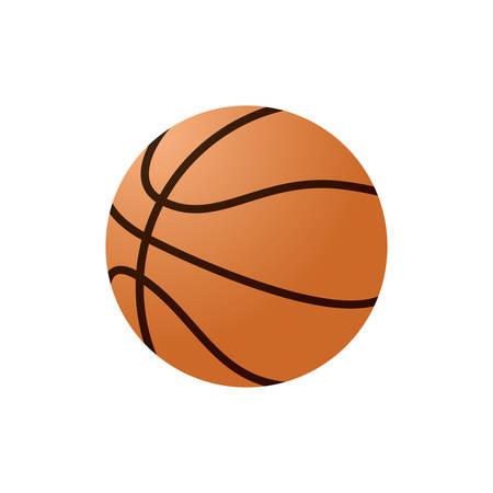 Een basketbalillustratie. Stock Illustratie
