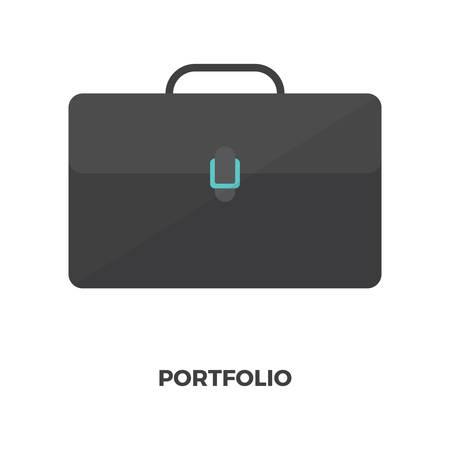 Business portfolio concept 向量圖像