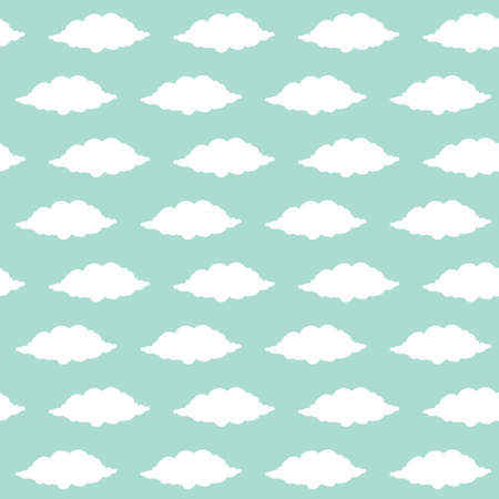 A seamless cloud background illustration. Imagens - 81533914