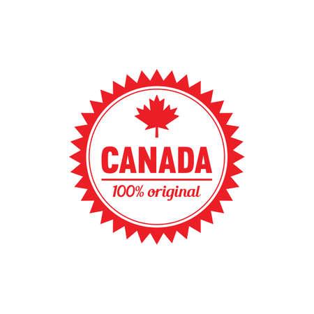 カナダ ラベル 写真素材 - 81533365