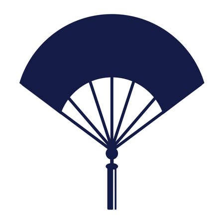 Chinese hand fan Illustration