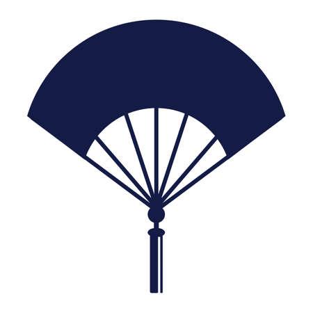 Ventilateur de main chinois Banque d'images - 81534507