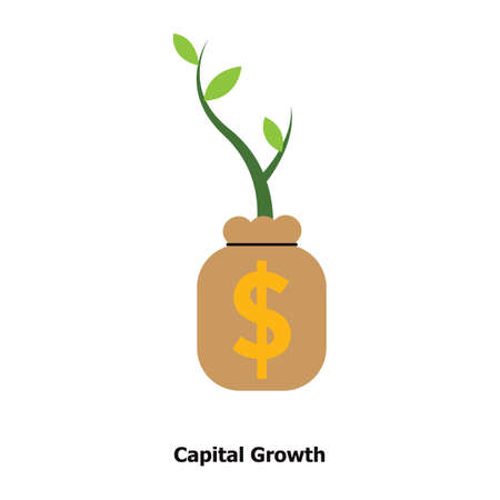 capital growth concept Stok Fotoğraf - 81589257