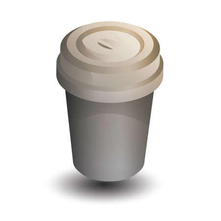 take away cup Banco de Imagens - 106667857