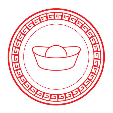 Lingotto cinese Archivio Fotografico - 81534238