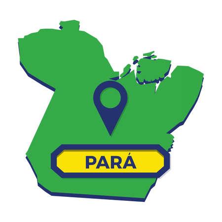 para map with map pin