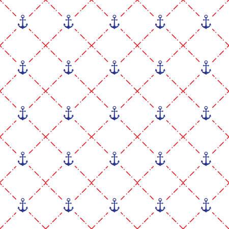 원활한 앵커 패턴 그림입니다.
