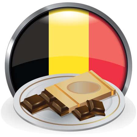 Chocoladereep Stock Illustratie