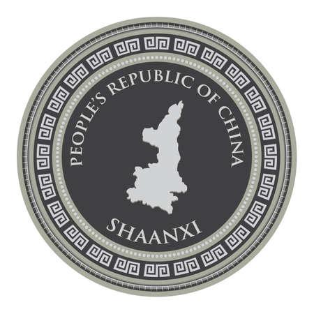 shaanxi map
