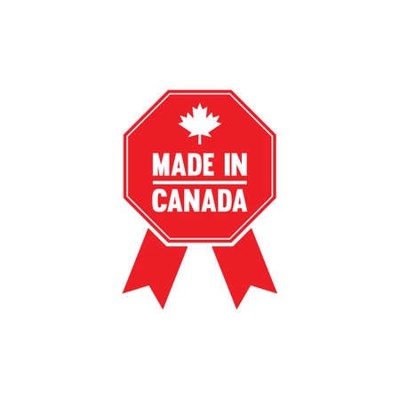 authenticity: made in canada rosette