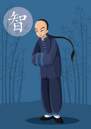 中国人の男