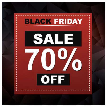 Black friday sale wallpaper Иллюстрация