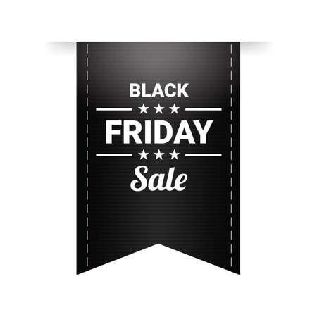 black friday sale tag  イラスト・ベクター素材