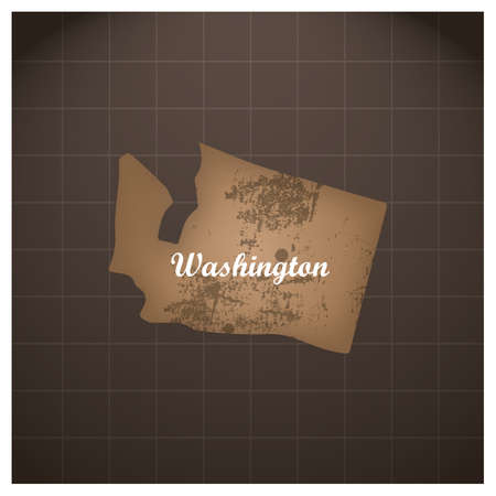 Washington State kaart
