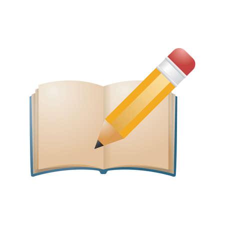 鉛筆イラスト本。