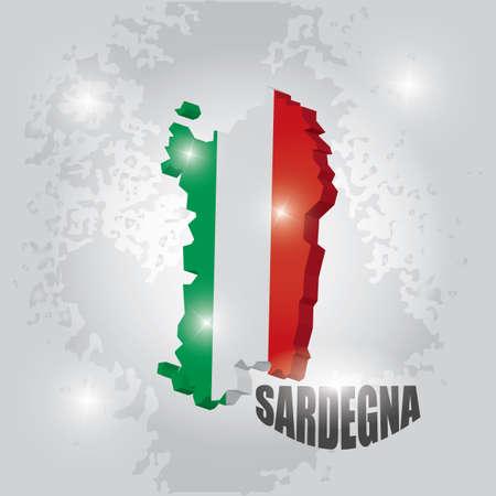 Sardegna map