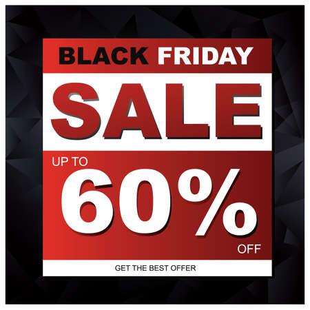get in shape: black friday sale wallpaper Illustration