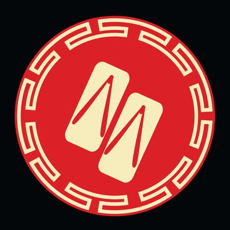 전통적인 중국 나 막 신