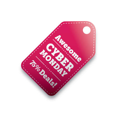 cyber monday sale tag