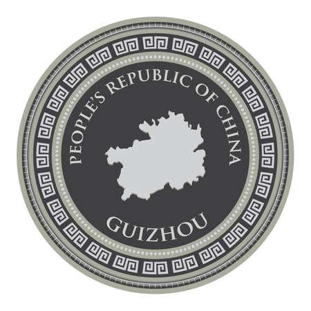 mapa de guizhou